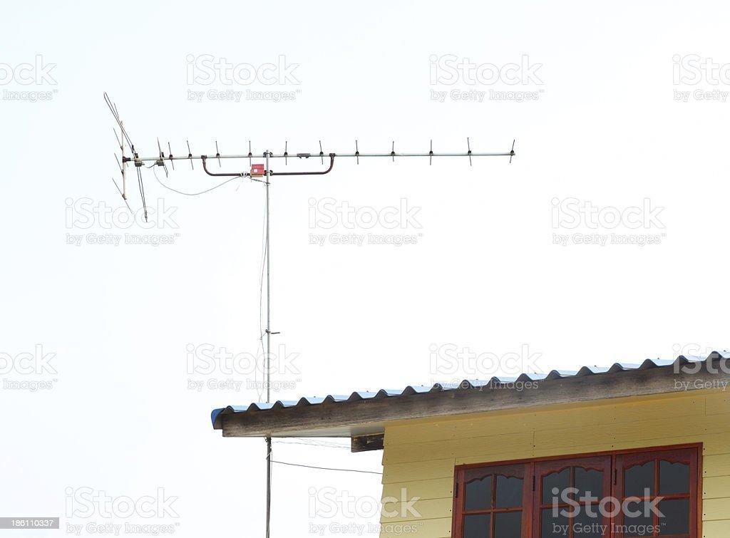 home TV antenna royalty-free stock photo