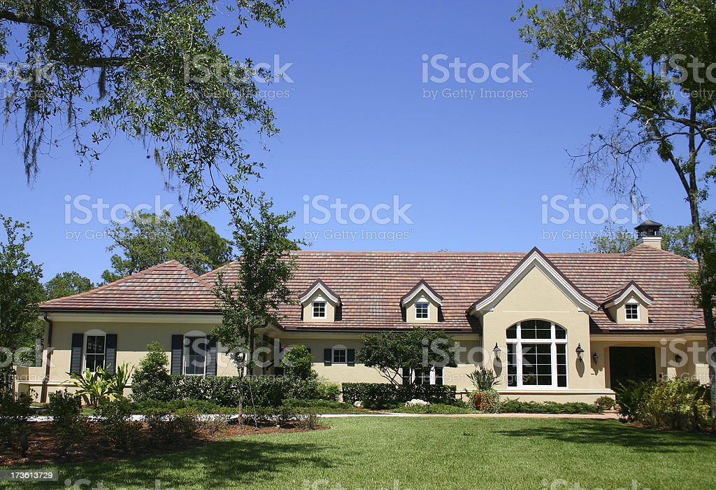 Home under the Trees royalty-free stock photo