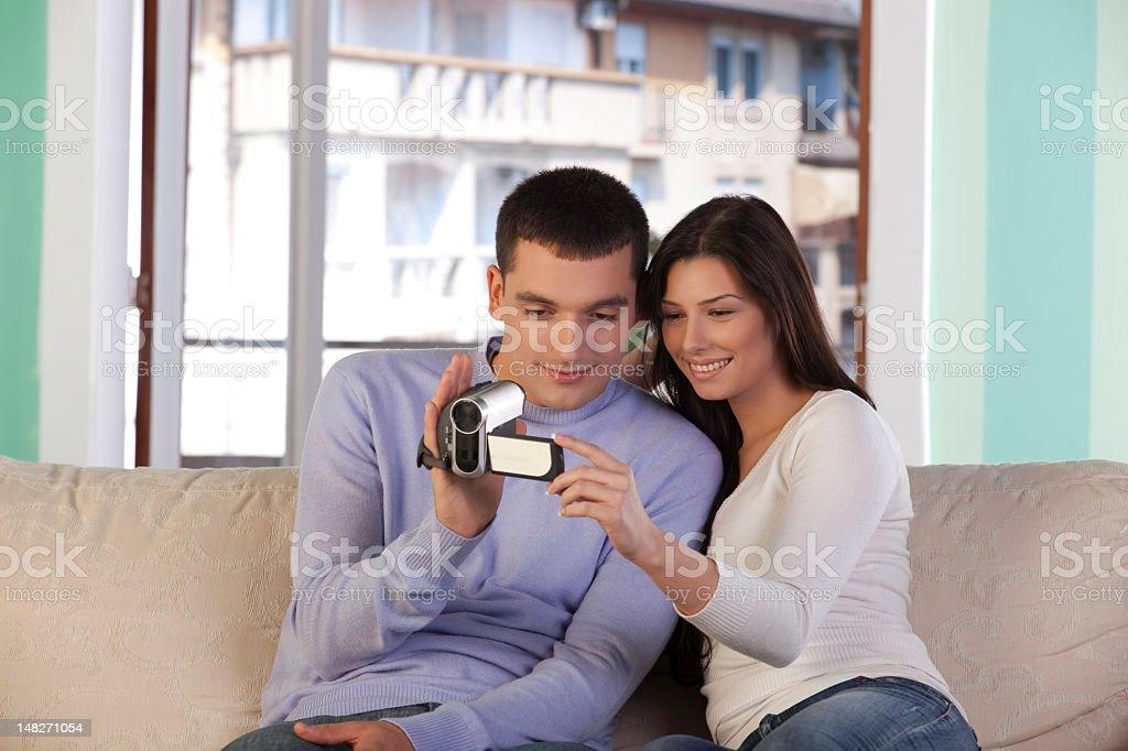 home video stock photo