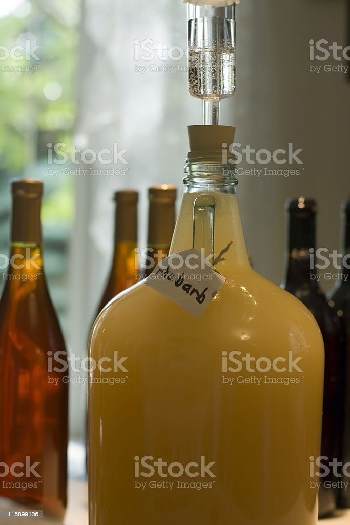 Home Winemaking royalty-free stock photo