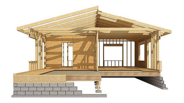 Home wood framing – Foto
