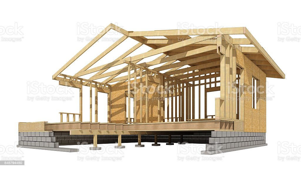Home Wood Framing Stock Photo & More Pictures of Abstract | iStock