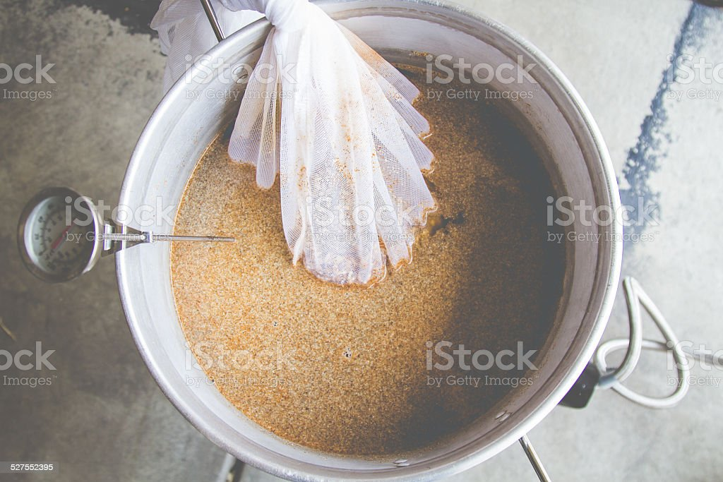 Homebrew Hops stock photo