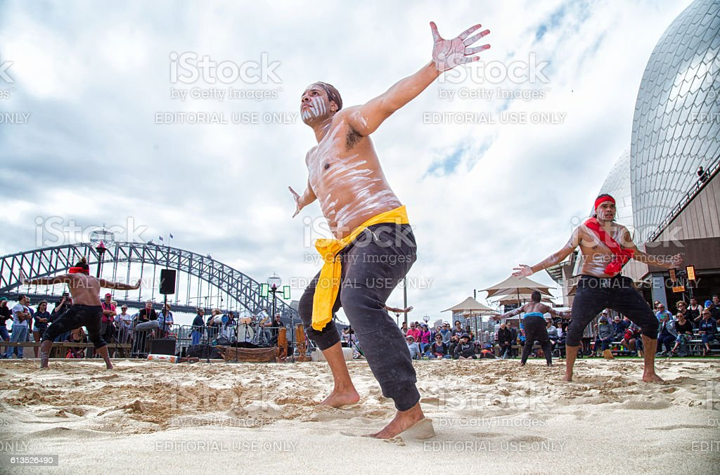 Homeground festival in Sydney - celebration of Aboriginal culture – Foto