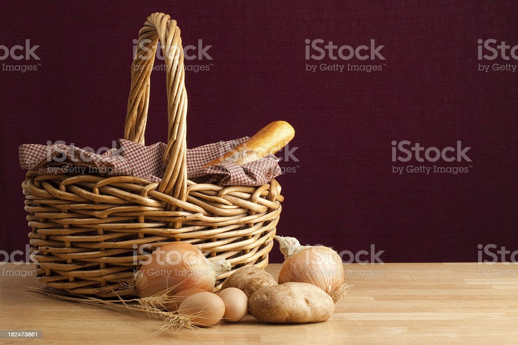 Homegrown Goodness royalty-free stock photo