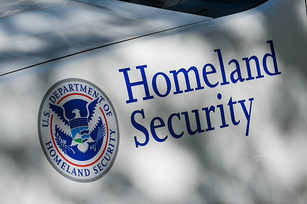 Homeland Security stock photo