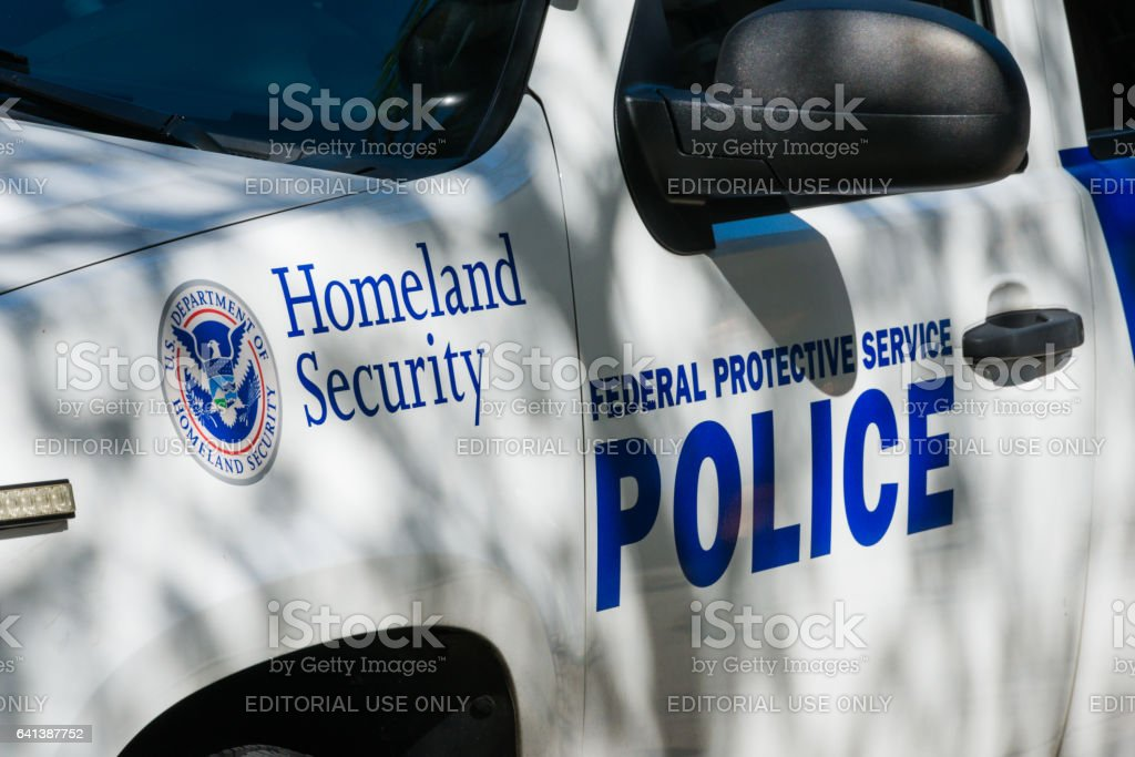 Homeland Security stock photo