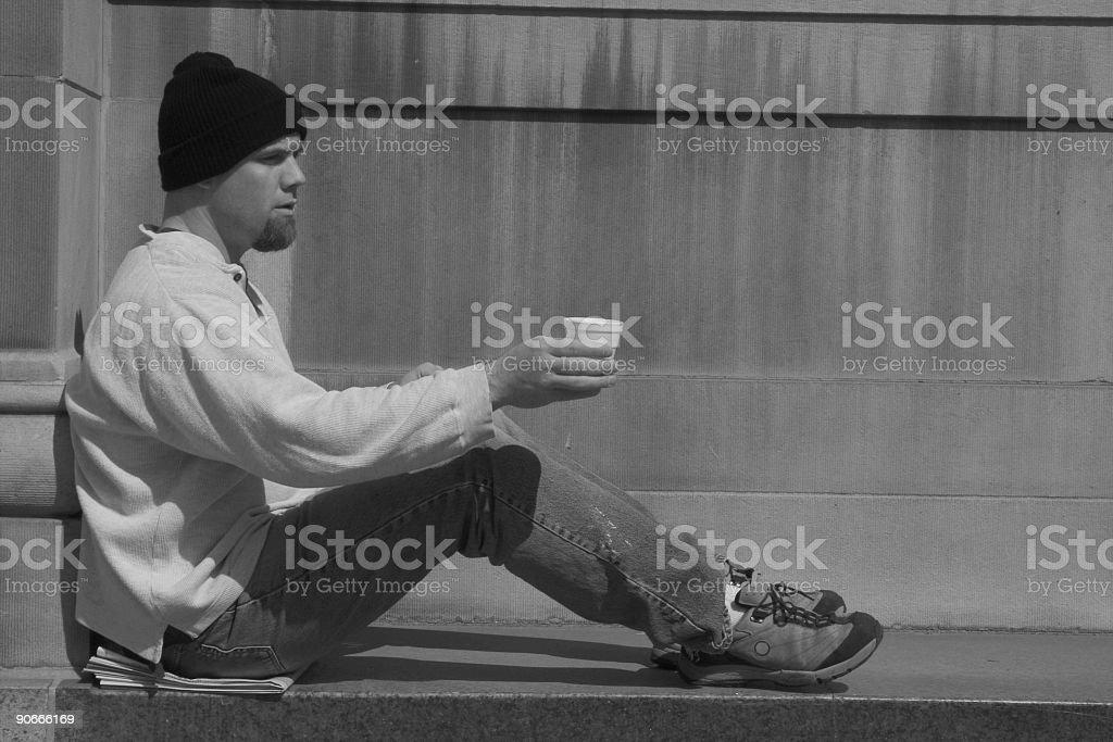 Homeless 6 royalty-free stock photo