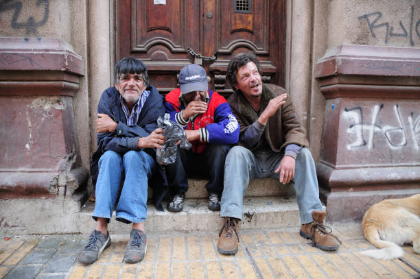 Obdachlos in Valparaiso – Foto