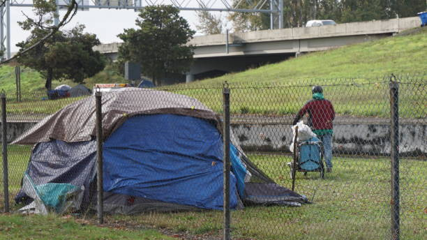 Homeless Lifestyle stock photo