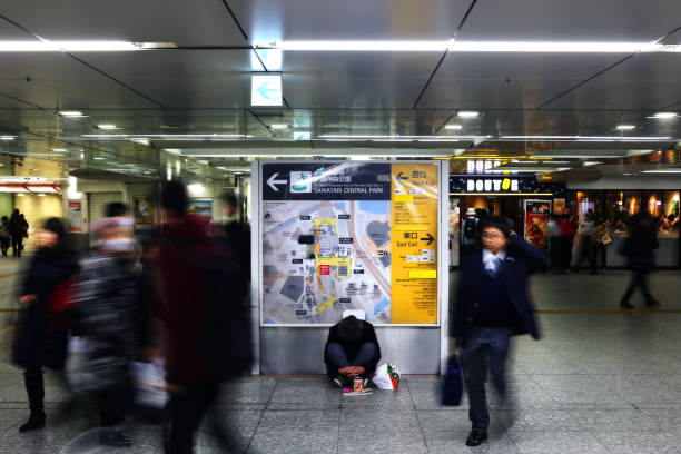Obdachloser Osaka – Foto