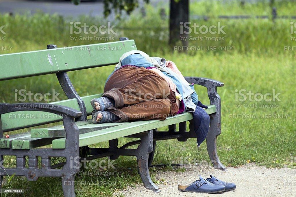 Homeless) gespendet – Foto