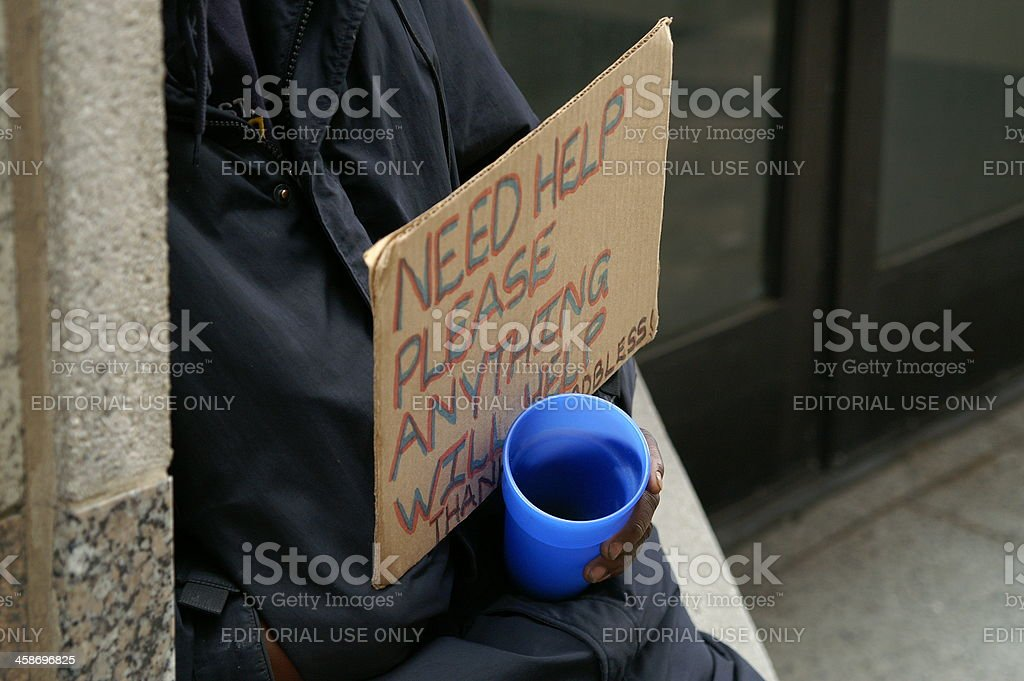 Homeless stock photo