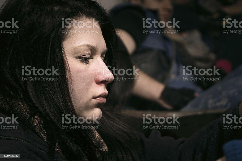 Pozbawionych kobieta – zdjęcie