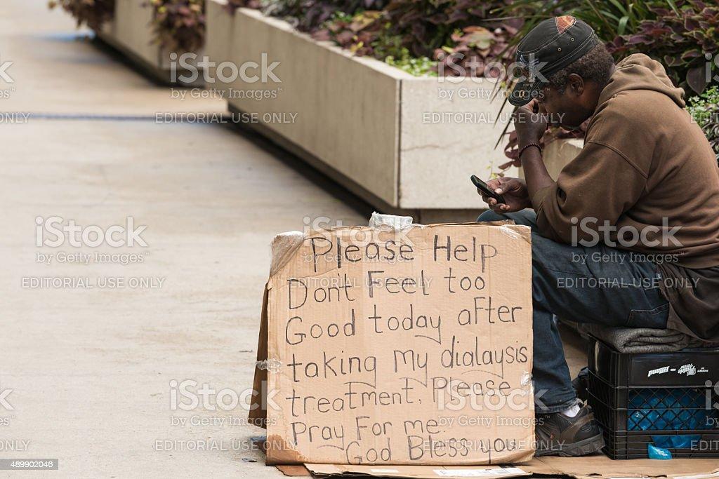 Homelessness stock photo