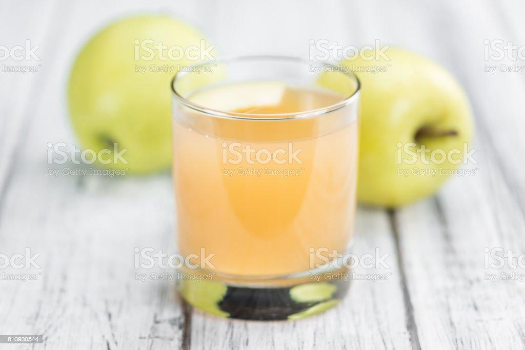 Hausgemachter Apfelsaft – Foto