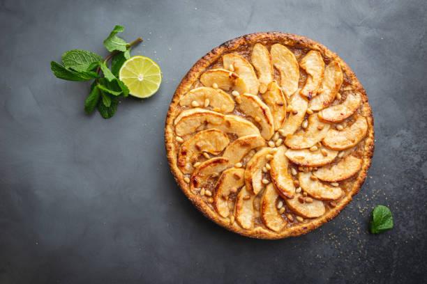 Hausgemachte Apfelkuchen – Foto