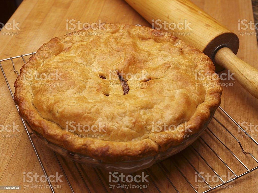 Homemade Apple Pie royalty-free stock photo