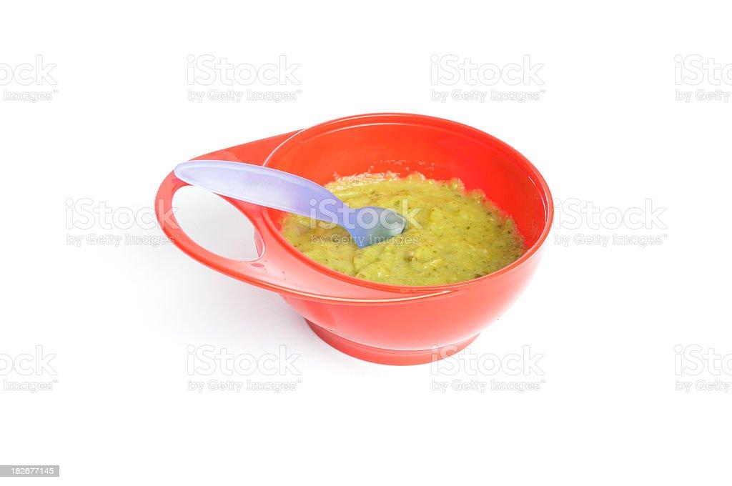 Homemade Baby Food royalty-free stock photo