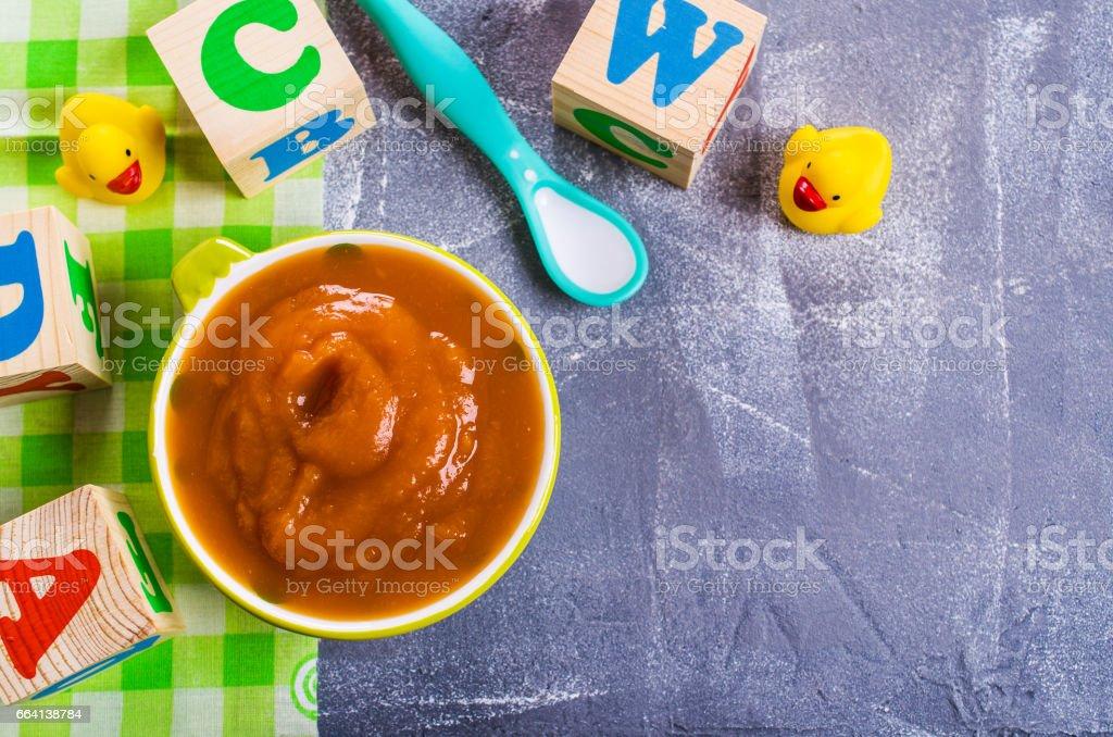 Hausgemachte Babynahrung – Foto