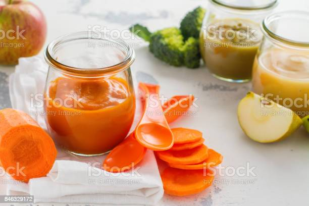Homemade baby vegetable and fruit puree picture id846329172?b=1&k=6&m=846329172&s=612x612&h=aznu06pzijdjnqscfonnhuy 5fzrs06hbyzgwhrmikm=