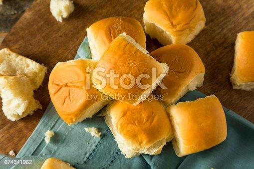 istock Homemade Baked Sweet Hawaiian Buns 674341962
