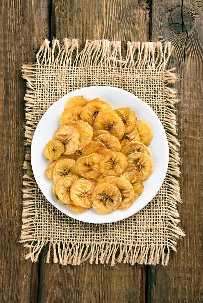 홈메이트 바나나 칩 - 플렌틴 바나나 뉴스 사진 이미지