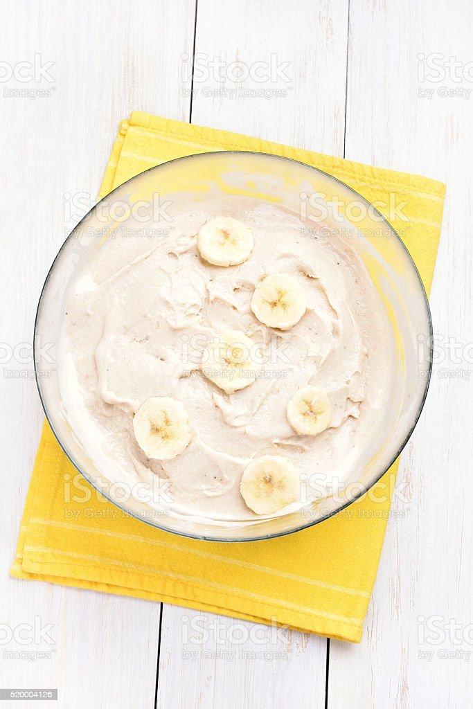 Hausgemachte Bananeneis – Foto