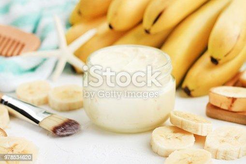preparing yummy skin product. Soft focus.