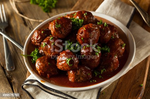 istock Homemade Barbecue Meat Balls 499578760