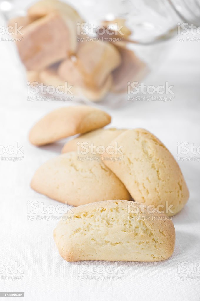 Homemade biscuits. royalty-free stock photo