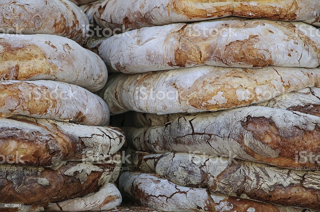 Pane fatto in casa - foto stock