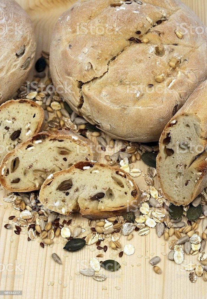 Pane fatto in casa foto stock royalty-free