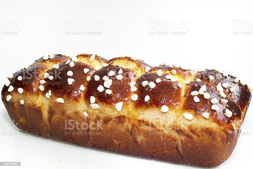 Home-made brioche - Royalty-free Baguette Stock Photo