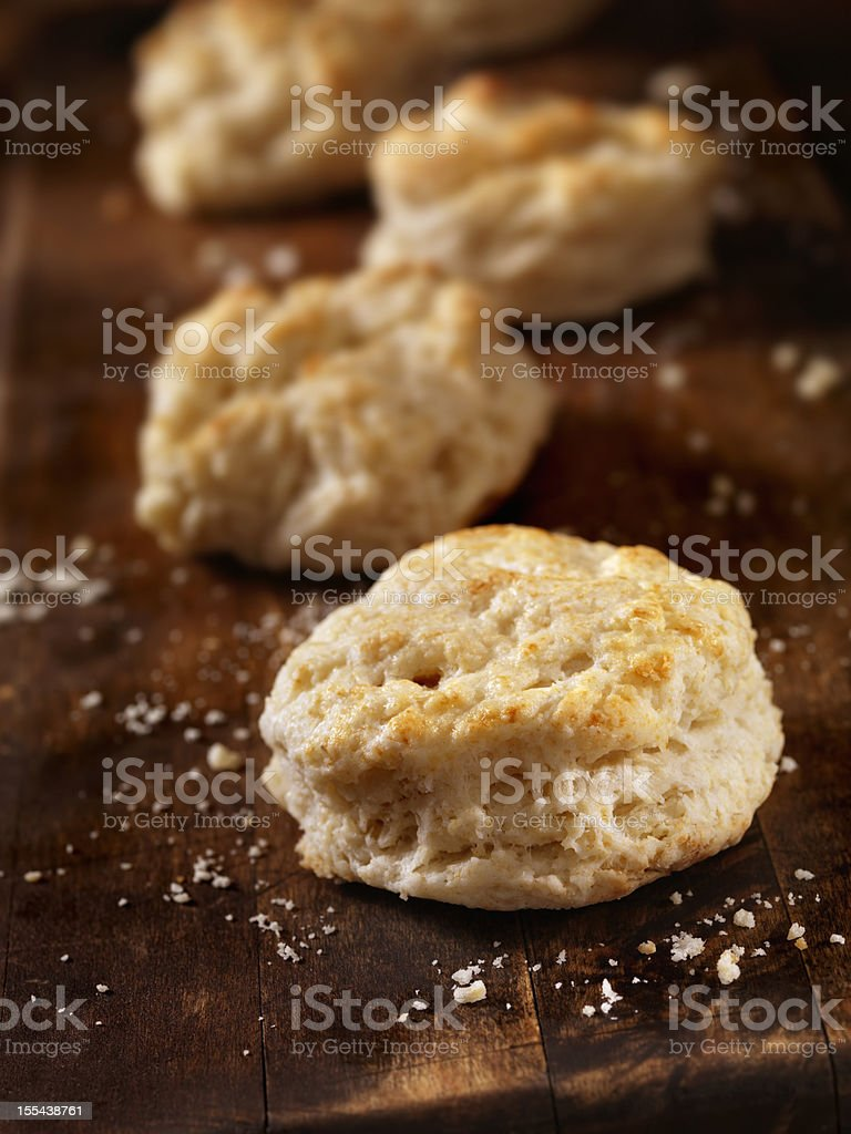 Homemade Buttermilk Biscuits royalty-free stock photo