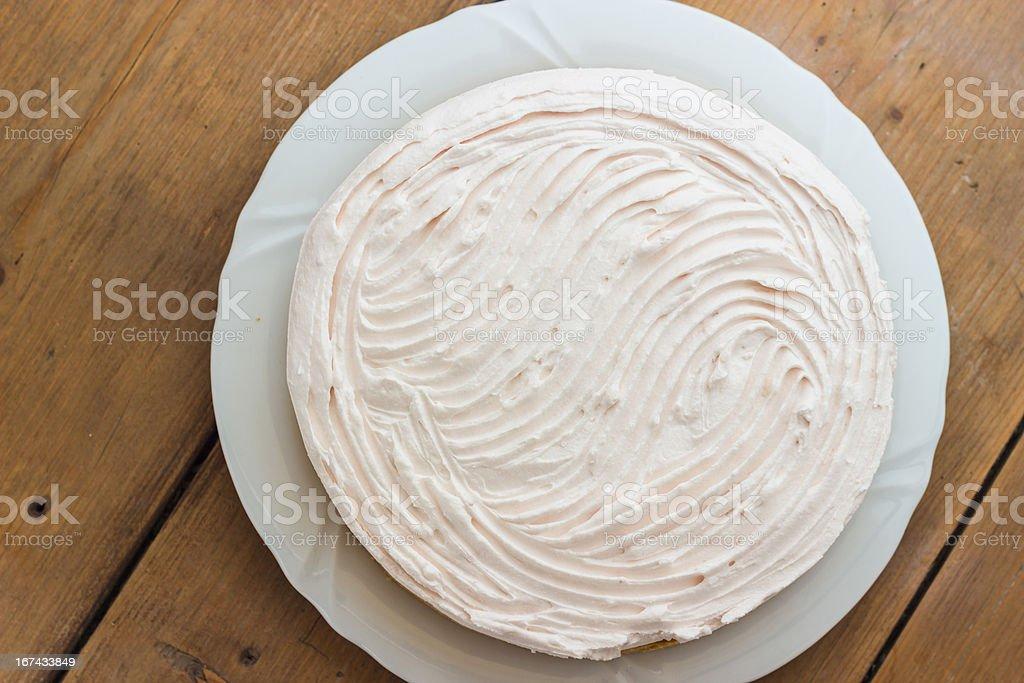 Homemade cake royalty-free stock photo