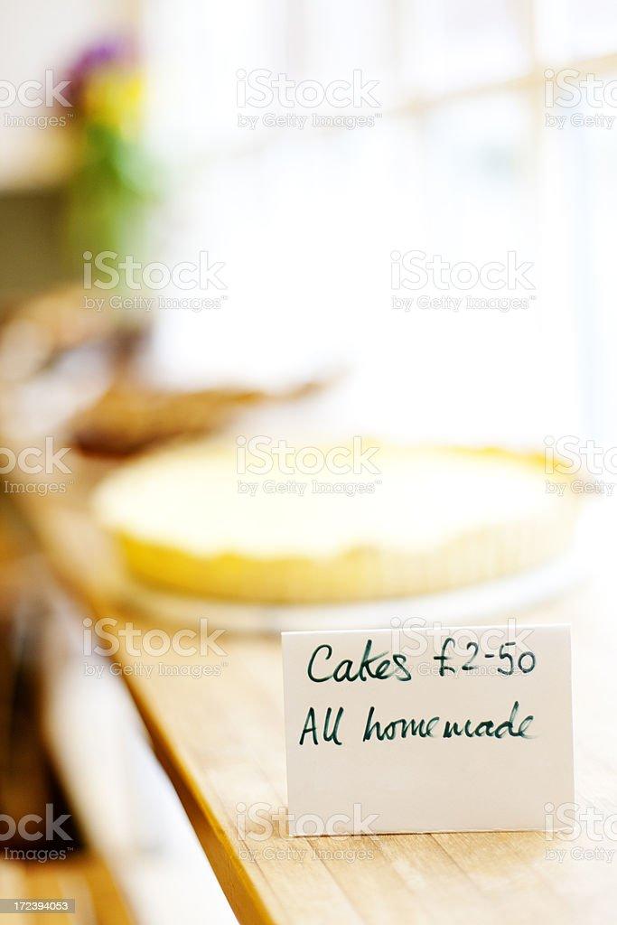 Homemade cakes royalty-free stock photo