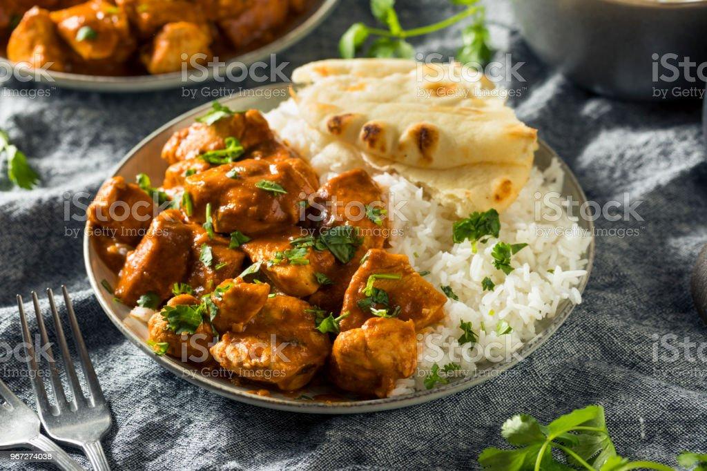 Homemade Chicken Tikka Masala stock photo