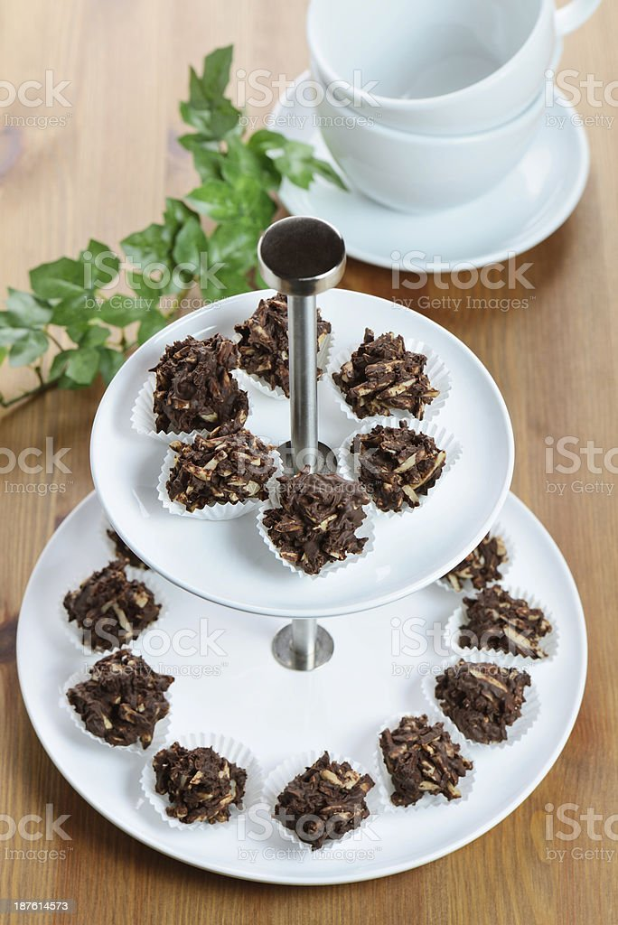 Homemade Chocolate Candy stock photo
