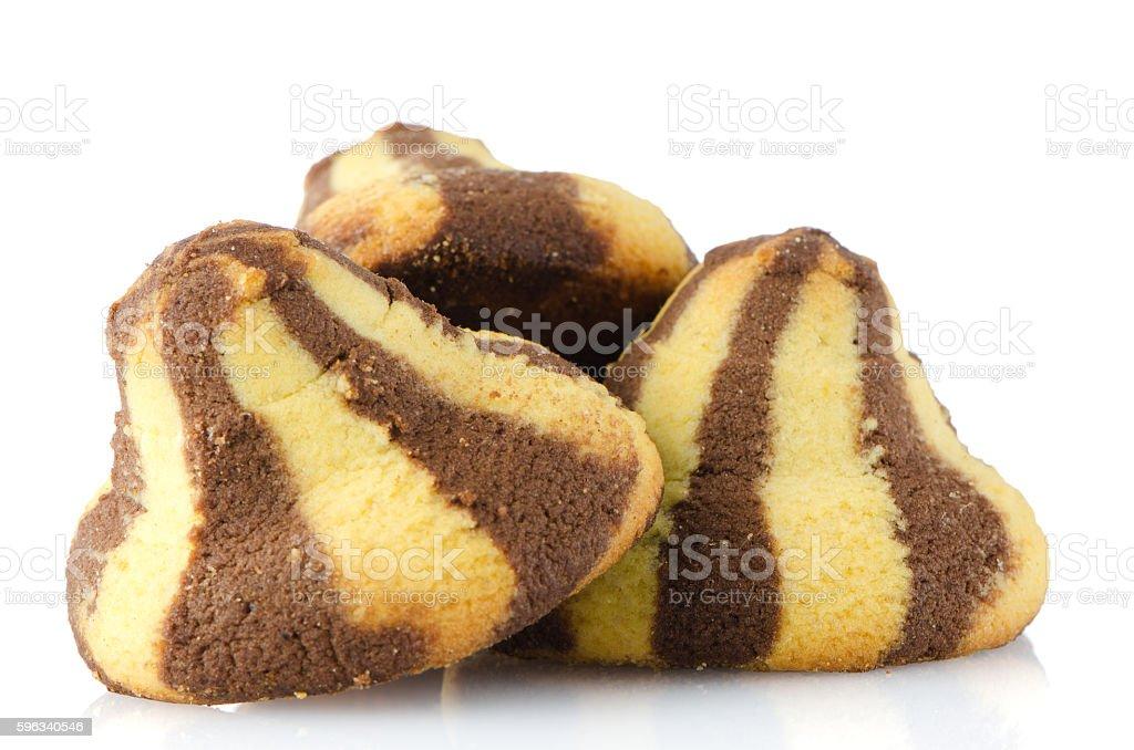 Homemade chocolate cookies royalty-free stock photo