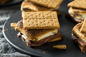 istock Homemade Chocolate Smores with Marshmallows 967250888