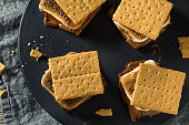 istock Homemade Chocolate Smores with Marshmallows 967251208