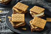 istock Homemade Chocolate Smores with Marshmallows 967262212