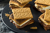 istock Homemade Chocolate Smores with Marshmallows 967269526