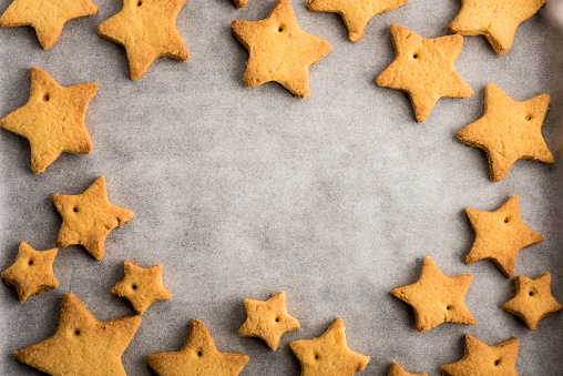 Homemade Christmas Cookies Stock Photo - Download Image Now