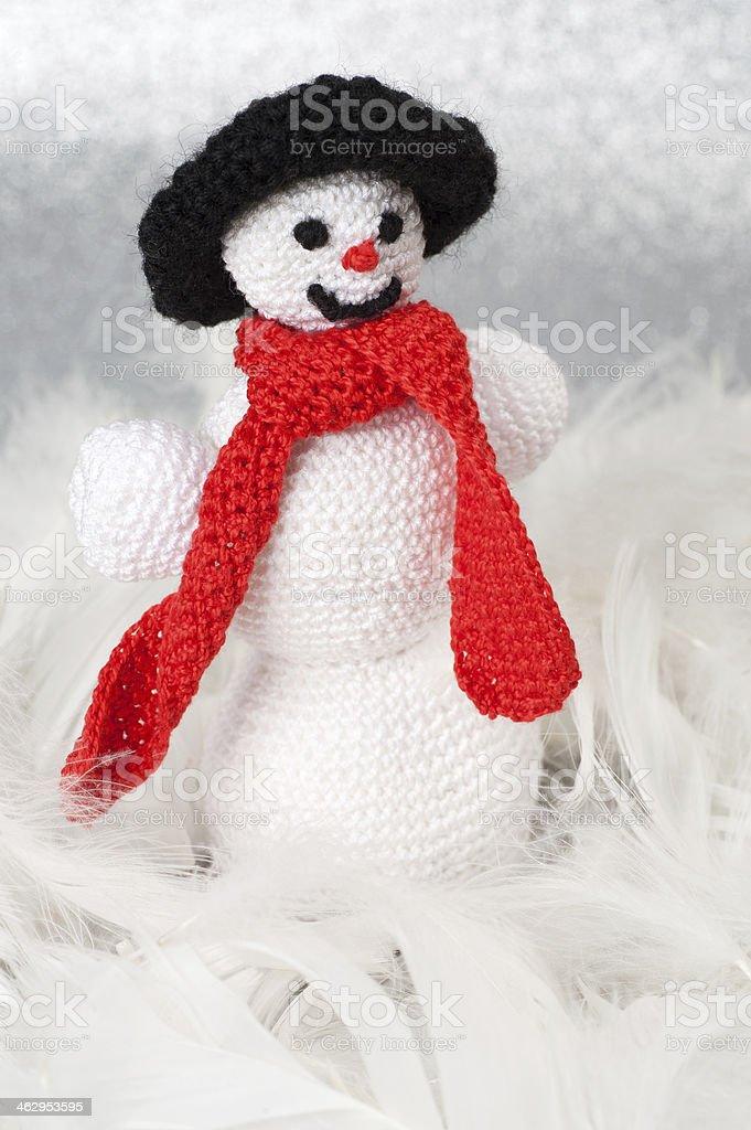 Caseras Navidad decoración de Crochet - Foto de stock de Adviento libre de derechos