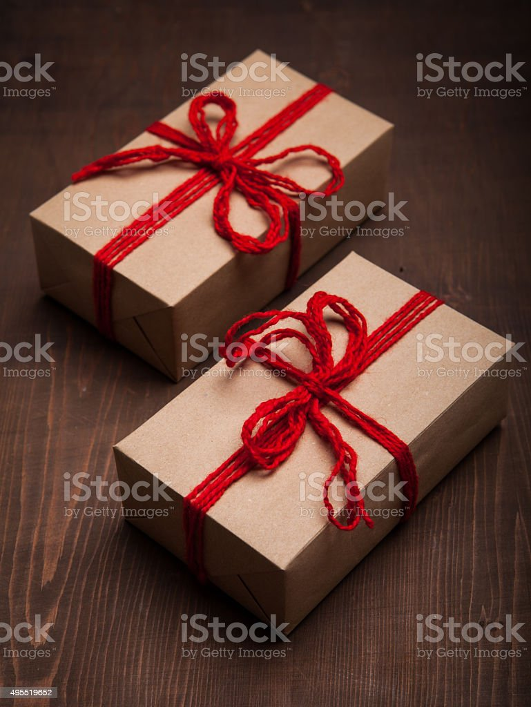 Homemade Christmas Gift Stock Photo & More Pictures of 2015   iStock