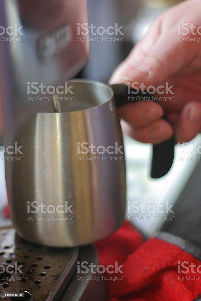 Homemade Coffee royalty-free stock photo