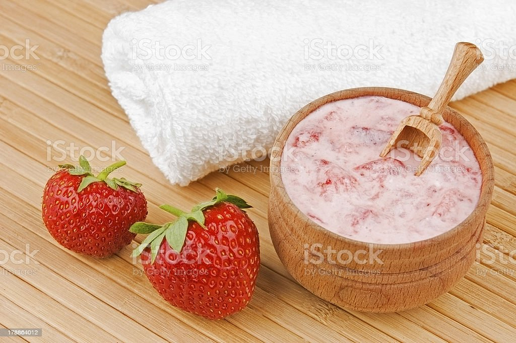 Homemade cosmetics stock photo