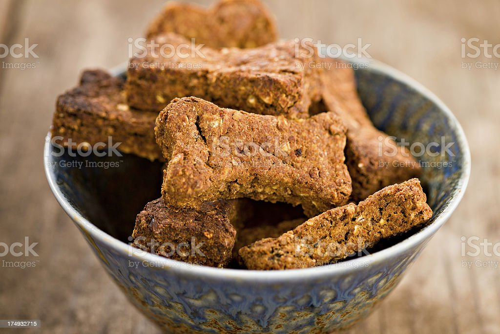 Homemade Dog Biscuits stock photo